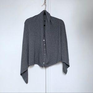 cashmere & silk cape